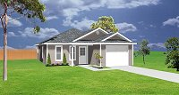 Small house plan J0324