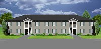 8 unit apartment plan. J0418-11-8