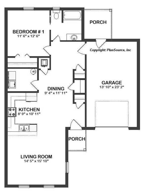 J0510-18 Floor plan layout