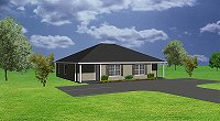 J748d, small duplex house plan