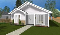 Small house plan S0119